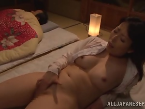 Asian, Brunettes, Dick, Japanese, Masturbating, Mature, Milf, Natural boobs, Sucking, Wife, Wild