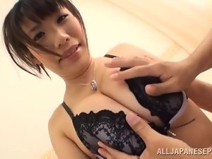 Asian, Babes, Big tits, Bra, Brunettes, Dick, Fingering, Japanese