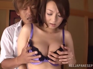 Asian, Awesome, Big tits, Boobs, Brunettes, Couple, Japanese, Licking, Milf, Reality