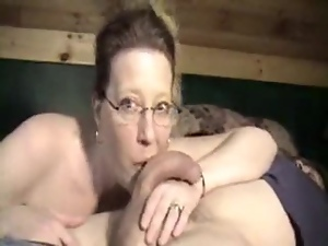 Amateur, Blowjob, Couple, Dick, Glasses, Hardcore, Homemade, Mature, Milf, Sucking, Webcam, Wife, Wild
