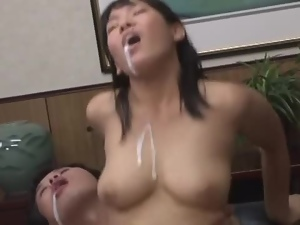 Asian, Banging, Brunettes, Cougar, Couple, Hardcore, Japanese, Milf, Natural boobs
