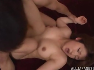 Acrobatic, Asian, Chick, Couple, Cute, Fucking, Hardcore, Japanese, Natural boobs, Posing