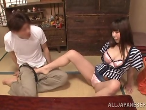 Amateur, Asian, Brunettes, Couple, Cunt, Foot fetish, Fucking, Hardcore, Japanese, Long hair, Milf, Tight
