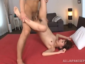 Asian, Babes, Couple, Hardcore, Japanese, Mouthful, Small tits, Teens