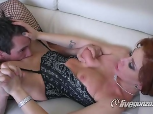 Babes, Beautiful, Couple, Experienced, Fucking, Hardcore, Licking, Lingerie, Milf, Natural boobs, Pornstars, Redheads