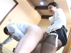 Asian, Ass, Dominatrix, Drilled, Japanese, Pegging