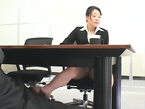 Asian, Boss, Foot fetish, Hardcore, Japanese, Lingerie, Naughty, Nylon, Office, Pantyhose, Reality, Secretary