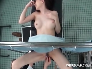Amateur, Asian, Brunettes, Couple, Cute, Fingering, Gyno exam, Hardcore, Japanese, Natural boobs, Pussy