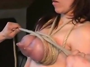Bdsm, Blondes, Bondage, Lactating, Pain, Slave, Tied up, Tits, Torture