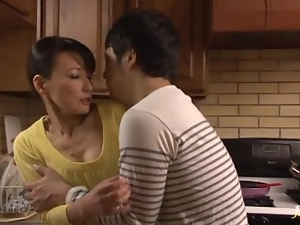 Asian, Awesome, Blowjob, Brunettes, Cougar, Couple, Gorgeous, Hardcore, Japanese, Kitchen, Mature, Milf, Wife