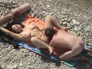 Babes, Beach, Big tits, Boyfriend, Chubby, Couple, Dick, Hardcore, Huge, Licking, Outdoor, Sexy