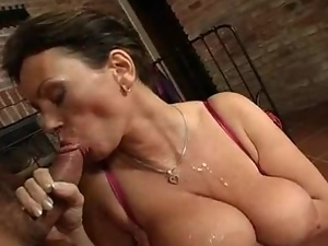 Big tits, Bra, Brunettes, Couple, Cowgirl, Cum in mouth, Cumshots, Facials, Fucking, Hardcore, Milf, Slut, Swallow