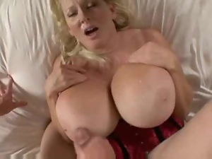 Big tits, Blondes, Cougar, Couple, Fake tits, Hardcore, Mature, Tits