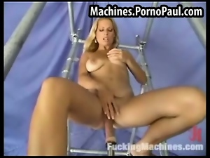 Big tits, Blondes, Dildo, Fetish, Fucking, Hardcore, Pumped, Pussy, Sex toys, Tits