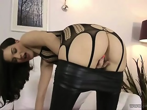 Blowjob, Boobs, Brunettes, Cum covered, Fishnet, Hardcore, Masturbating, Panties, Reality, Sexy, Slut, Stockings, Uk