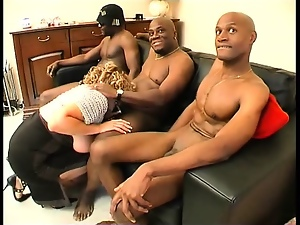 Black, Dick, French, Gangbang, Group sex, Hardcore, Interracial, Mature