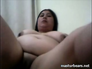 Bbw, Chinese, Fat, Homemade, Masturbating, Sex toys, Solo