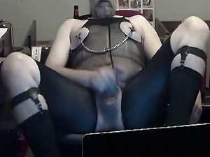 Amateur, Bdsm, Crossdressing, Cum, Garter belts, Gay, Kinky, Masturbating, Nylon, Socks