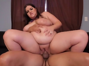 Bbw, Brunettes, Cumshots, Screaming