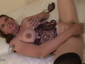 Anal, Food, Granny, Mature, Milf, Squirting