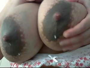Amateur, Big tits, Breast, Lactating, Milf, Nipples