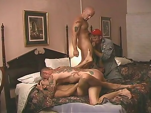 4some, Amateur, Barebacking, Creampie, Felching, Gay, Group sex