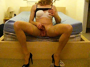Gay, High heels, Miniskirt, Photoshoot, Slut, Tranny