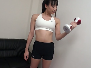 Ass, Big butt, Pussy, Sex toys, Sport, Vibrator, Workout