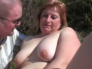 Bbw, Busty, Doggystyle, Hardcore, Mature, Mom, Outdoor, Panties, Perverted