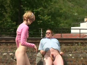 Blondes, Blowjob, Hardcore, Missionary, Old and young, Outdoor, Pigtail, Public, Riding, Teens