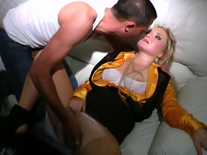 Blondes, Blowjob, Drunk, Fingering, Lingerie, Panties, Party, Vip room