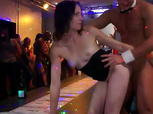 Ass, Blondes, Brunettes, Busty, Dancing, Drunk, Hardcore, Long hair, Party, Pussy, Reality
