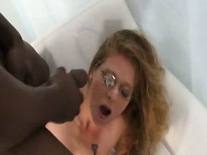 Bbc, Black, Blondes, Cuckold, Cumshots, Doggystyle, Facials, Glasses, Hardcore, Interracial, Small tits