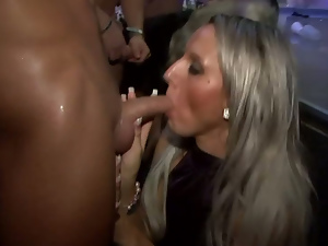 Ass, Blondes, Blowjob, Brunettes, Busty, Dancing, Drunk, Long hair, Party, Reality, Satin, Strip
