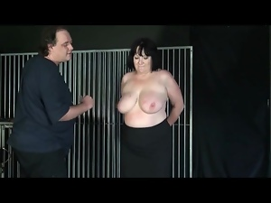Bdsm, Big tits, Bondage, Chick, Fat, Tits, Undressing