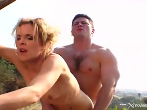 Cuckold, Farm, Fucking, Hardcore, Horny, Muscled, Outdoor, Wife