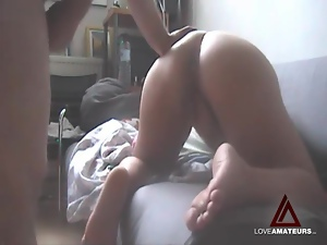 Anal, Asshole, Big butt, Clit, Doggystyle, Fucking, Girlfriend, Masturbating
