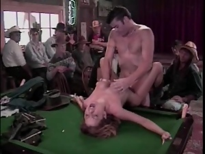 Bar, Big tits, Hardcore, Ranch, Voyeur