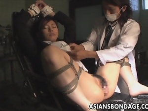 Asian, Babes, Bondage, Japanese, Pussy, Spreading, Tied up