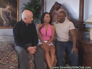 Cuckold, Fucking, Husband, Swingers, Watching