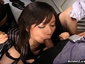 Asian, Fucking, Japanese, Lady, Office, Uncensored