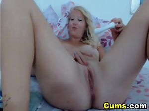 Blondes, Clit, Hd, Homemade, Vibrator