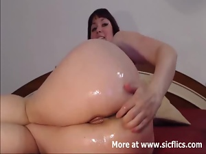 Ass, Bbw, Fisting, Gaping hole, Milf