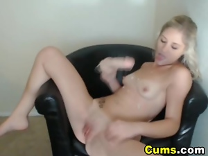 Amateur, Blondes, Dildo, Hd, Horny, Sex toys, Sucking