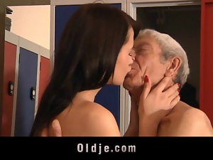 Blowjob, Kissing, Old man