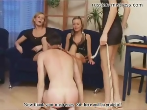 Femdom, Group sex, Pain, Rough