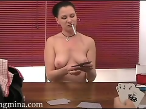 Amateur, Game, Poker, Pussy, Smoking