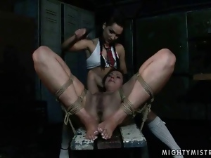 Bdsm, Bondage, Humiliation, Lezdom, Mistress, Punish, Slave, Young