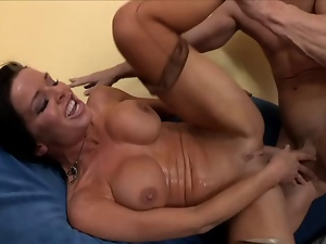 Female ejaculation, Fucking, Milf, Orgasm, Squirting, Stockings, Wet