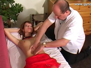 Doctor, Gyno exam, Squirting, Teens
